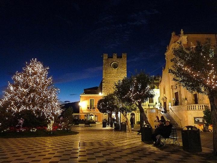 Eventi di Natale a Taormina Foto